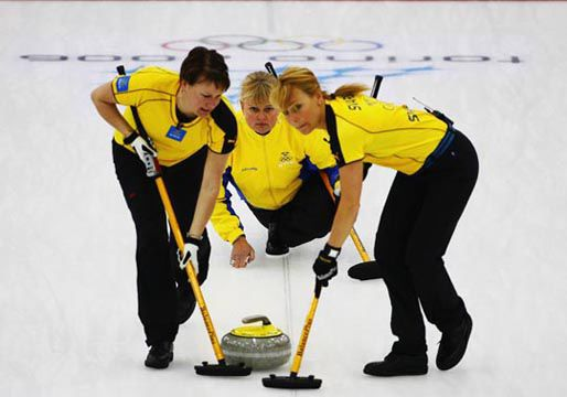Swedish Curling team