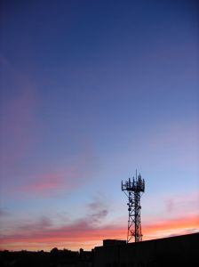 Cell phone radio tower